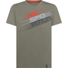 La Sportiva Stripe Evo T-Shirt Heren, clay